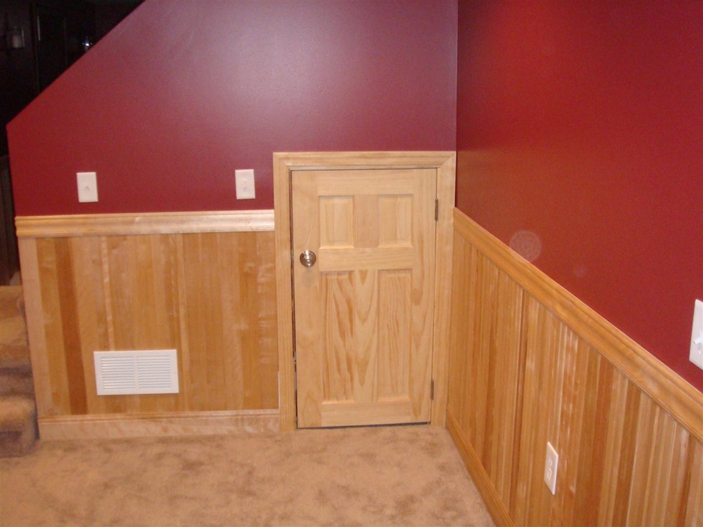 Examples Of A Refinished Basement: